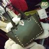 2017 Italy New PU Shopping Bag Fashion Studded Design Handbags Colorful Shoulder Bag Sy8144