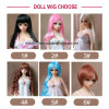 Wig for Sex Doll and Silicone Real Doll