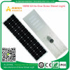 100watts All-in-One Solar LED Street Light with Lithium Battery