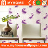 PVC Washable 3D Bamboo Wallpaper for Home Decoration