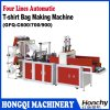 Two Lines Cold Cutting T-Shirt Bag Making Machine