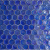 Mosaic Tile Glass Cobalt Blue