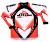 Motorcycle Off Road Clothes (MB-MC001J - Oranger)