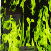 Green Fire Motor Cycle Water Transfer Printing Film No. K023555X1a