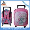 Cartoon Girls School Student Wheeled Backpack Trolley Bag