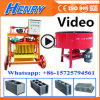 Qmy4-45 Vibration Brick Machine Mobile Egg Laying Block Machine Concrete Hollow Block Making Machine Price