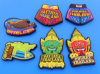Cityscape PVC Travel Souvenir Fridge Magnet or Sticker (ASNY-FM-TM-137)