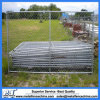 6FT Height Galvanized Chain Link Wire Mesh Temporary Fencing