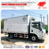 Curb Weight 3 Tons Cooling Van Truck for Food Transport