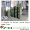 Corundum Wear Resistant Precasting Block for Heating Furnace