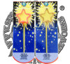 Five Stars Shape Sparkler Fireworks Toy Fireworks Party Supplies