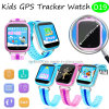Colorful Big Touch Screen Kids GPS Tracker Watch with Geo-Fence D19