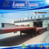 Hydraulic 49m Long Extendable Low Flatbed Semi Truck Trailer