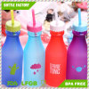 BPA-Free Plastic Water Bottle Tumbler with Straw