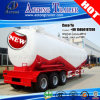 42ton Tri Axles Bulker Cement Tank Truck Trailer for Libya