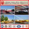 Long Type Lowbed Semi Truck Trailer for Heavy Mechine Transport