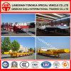 Long Type Lowbed Semi Truck Trailer for Heavy Mechine Transport