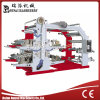 Four High Speed Flexographic Colors Printing Machine