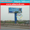 Prisma Trivision Dsiplay Outdoor Advertising Unipole Billboard Structure