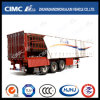 Curtain Type Semi Trailer with Rear Doors and Long Locks