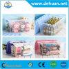 Fancy Plastic Tin Storage Box with Storage Box with Handle