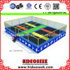 Small Square Trampoline with Safety Enclosure for Kids