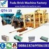 Hydraulic Press Qt4-15 Full Automatic Block Machine/Paver Brick Machine