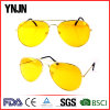 Anti Glare Metal Day Night Vision Driving Sunglasses (YJ-W450)