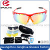 Exchangeable Shatterproof Cycling Sun Glasses Vintage Volleyball Sport Safety Goggles with Interchangeable Polarized Lens