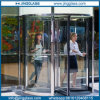 Flat Curved Bent Revolving Door Tempered Glass