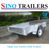 Fully Welded Solid Axle Single Axle Trailers