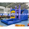 5*4m Commercial Inflatable Dolphin Jumping House with Slide