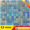 Wall Floor Tiles Bathroom Swimming Blue Glass Mosaic Tile (M0096)