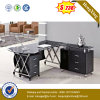 2016 Hot Sell Executive Desk Metal and Glass Office Desk (NS-GD016)