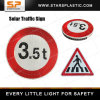 Integrated Aluminum Road Safety Solar LED Traffic Sign