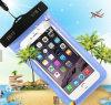 Transparent PVC Mobile Phone Case Waterproof Bag Waterproof Case for iPhone 6