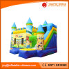2017 Inflatable Jumping Moonwalk Bouncy Combo with Slide (T3-109)