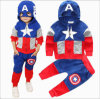 2PCS Kids Outfits Long Sleeve Cotton Sport Suit (A714)