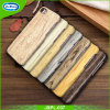 Wood Pattern PC with PU Leather Cell Phone Case for iPhone 7