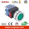 Onpow 30mm Push Button Switch (LAS0-K30-11/R/12V, CE, CCC, RoHS)