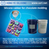 Chocolate Molding Silicone Rubber in FDA Certificate