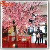 Indoor Decorative Fake Plastic Artificial Cherry Blossom Tree