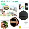 Round Shape GPS Tracker with GPS+Lbs Dual Positioning (T8S)