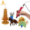 Kids DIY Toys Set 3D Printing Pen with Filaments