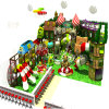 Small Forest Jungle Themed Children′s Classic Playground with Slide