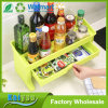 Multifunctional Plastic Double Deck Kitchen or Bathroom Storage Shelf