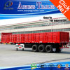3 Axles 40ft Dropside Container Semi Trailer with Twist Locks