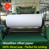 Uncoated 100% Woodfree Printing Paper