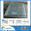 4-Sides Storage Folding Metal Wire Mesh Roll Cage Container