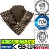 Luxury Fur Scarf Lavender Wheat Bag Microwave Heat Bag